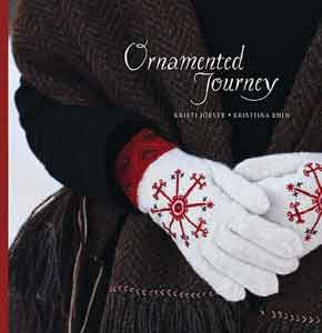 Voorkant van het boek ornamented journey