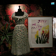 Noten, Dior en Cy Twombly