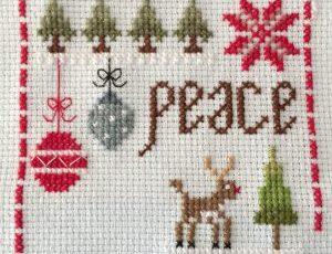 A stitch a day…