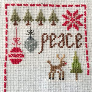 Sample uit Cross Stitcher November 2017