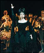 Marion Tate (BRB) as Carabosse (photo Bill Cooper)